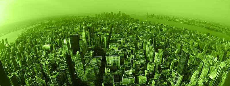 green-new-york-airview
